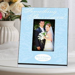 GC860 Something Borrowed Blue Wedding | Personalized Picture Frame 4x6 Photo by JDS Marketing