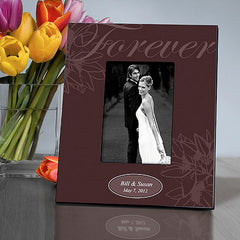 GC860 Ebony Forever in 3 Colors | Personalized Picture Frame for 4x6 Photo