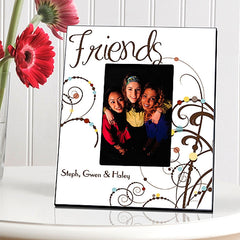 GC858 Bouncy Bouquet Cheerful Friendship in 3 Colors | Personalized Picture Frame 4x6 Photo