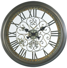 4790 Marlow Large Round Wall Clock by Cooper Classics