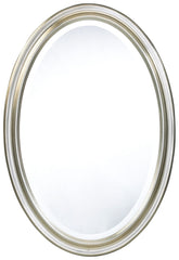 4770 Blake Silver Oversized Oval Wall Mirror by Cooper Classics