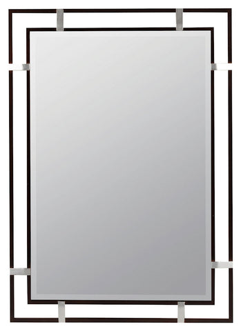 40399 Kinzie Oversized Rectangle Wall Mirror by Cooper Classics