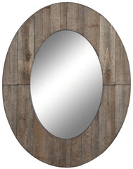 40129 Mammoth Oversized Oval Wall Mirror by Cooper Classics