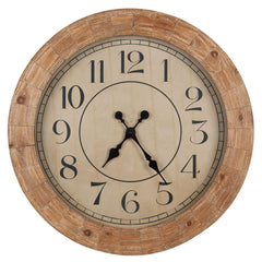 40354 Fairbanks Oversized Round Wall Clock by Cooper Classics