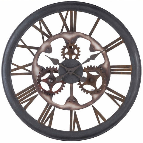 40220 Senna Extra Large Round Wall Clock by Cooper Classics