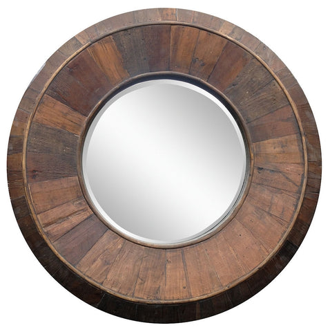 40025 Andrea Oversized Round Wall Mirror by Cooper Classics