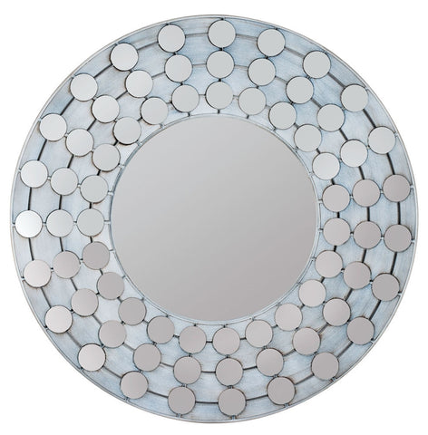 40372 Arden Oversized Round Wall Mirror by Cooper Classics