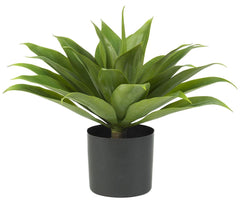 6565 Agave Artificial Silk Plant with Planter by Nearly Natural | 25 inches