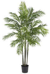 5275 Areca Palm Artificial Silk Tree w/Planter by Nearly Natural | 6 ft