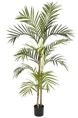 5314 Areca Palm Artificial Silk Tree w/Planter by Nearly Natural | 4 ft