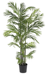 5274 Areca Palm Artificial Silk Tree w/Planter by Nearly Natural | 5 feet