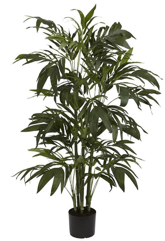 5327 Bamboo Palm Artificial Tree with Planter by Nearly Natural | 48 inches