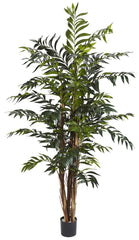 5329 Bamboo Palm Artificial Tree with Planter by Nearly Natural | 60 inches