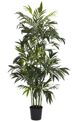 5328 Bamboo Palm Artificial Tree with Planter by Nearly Natural | 72 inches
