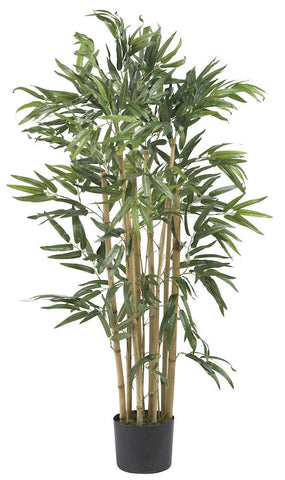 5279 Bambusa Bamboo Artificial Plant w/Planter by Nearly Natural | 3 feet