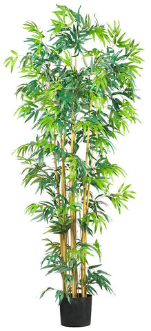 5214 Bambusa Bamboo Artificial Tree with Planter by Nearly Natural | 6 feet