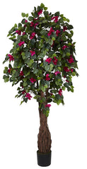 5343 Bougainvillea Artificial Silk Tree by Nearly Natural | 6 feet