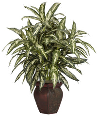 6673 Chinese Evergreen Aglaonema Silk Plant by Nearly Natural | 30 inches