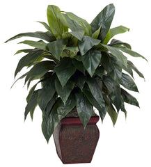 6688 Cordyline Artificial Plant w/Planter by Nearly Natural | 35 inches