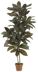 6580 Cordyline Artificial Silk Plant w/Planter by Nearly Natural | 5 feet