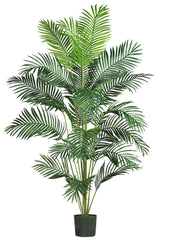 5261 Paradise Palm Artificial Tree with Planter by Nearly Natural | 7 feet