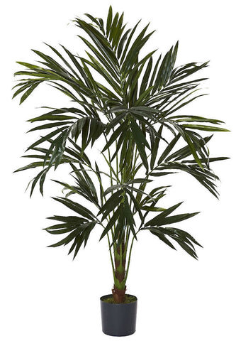 5341 Kentia Palm Artificial Silk Tree with Planter by Nearly Natural | 6 ft