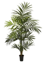 5335 Kentia Palm Artificial Tree with Planter by Nearly Natural | 7 feet