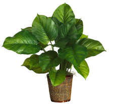 6582-0306 Large Leaf Philodendron Silk Plant by Nearly Natural | 29 inches
