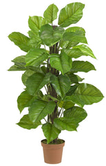 6583 Large Leaf Philodendron Silk Plant by Nearly Natural | 52 inches