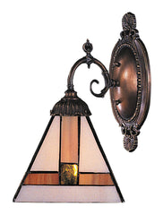 071-TB-01 Symmetrical Mix-N-Match 1-Lite Tiffany-Style Sconce ELK Lighting