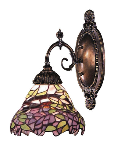 071-TB-28 Wisteria Mix-N-Match 1-Lite Tiffany-Style Sconce ELK Lighting