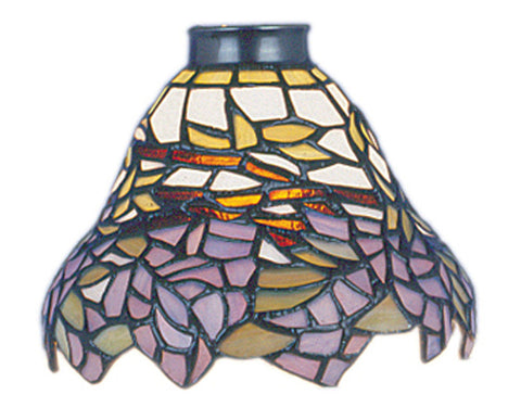 999-28 Wisteria Mix-N-Match Tiffany-Style Ceiling Fan Shade ELK Lighting