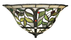 70098-2 Latham 2-Light Tiffany-Style Sconce in Tiffany Bronze ELK Lighting