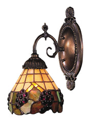 071-TB-07 Grapevine Mix-N-Match 1-Lite Tiffany-Style Sconce ELK Lighting