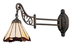 079-TB-03 Grape Trellis Mix-N-Match 1-Light Tiffany-Style Sconce ELK Lighting
