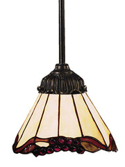 078-TB-03 Grape Trellis Mix-N-Match 1-Light Tiffany-Style Pendant ELK Lighting