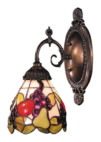 071-TB-19 Fruit Mix-N-Match 1-Light Tiffany-Style Sconce ELK Lighting