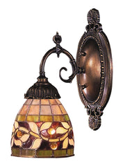 071-TB-13 English Ivy Mix-N-Match 1-Lite Tiffany-Style Sconce ELK Lighting