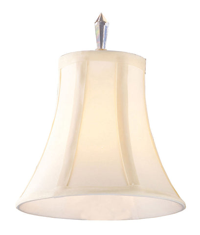 1081 Emilion Ivory Chandelier Lamp Shade with Crystal Finial ELK Lighting