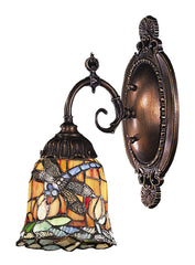 071-TB-12 Dragonfly Mix-N-Match 1-Lite Tiffany-Style Sconce ELK Lighting