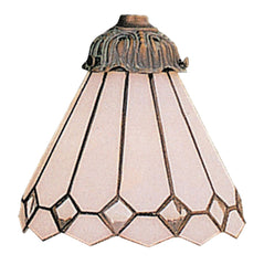 999-4 Clear Diamond Mix-N-Match Tiffany-Style Ceiling Fan Shade ELK Lighting