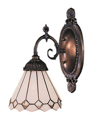 071-TB-04 Clear Diamond Mix-N-Match 1-Lite Tiffany-Style Sconce ELK Lighting