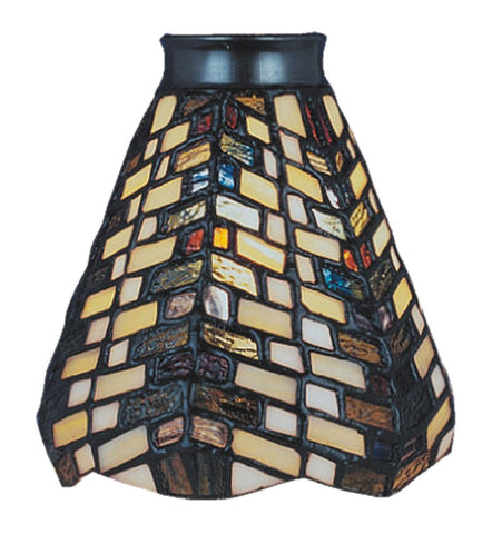 999-20 Basket Weave Mix-N-Match Tiffany-Style Ceiling Fan Shade ELK Lighting