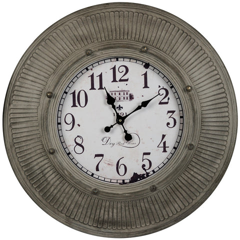 40035 Kensington Extra Large Round Wall Clock by Cooper Classics
