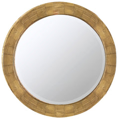 40381 Kettler Oversized Round Wall Mirror by Cooper Classics