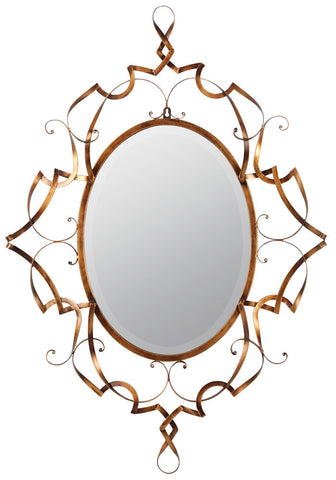 40401 Carter Oversized Oval Wall Mirror by Cooper Classics