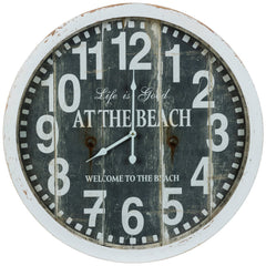 40711 Greenwich Large Round Wall Clock by Cooper Classics