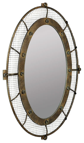 40831 Agda Oversized Oval Wall Mirror by Cooper Classics