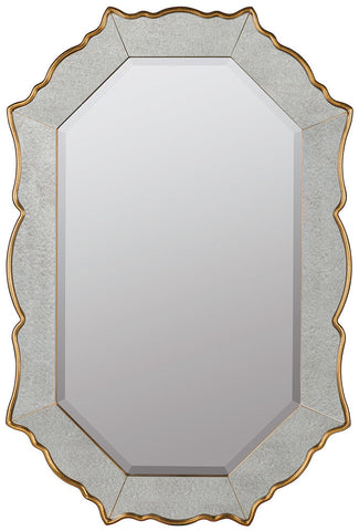 41029 Bianca Oversized Octagon Wall Mirror by Cooper Classics