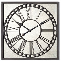41044 Lydia Extra Large Square Wall Clock by Cooper Classics